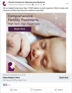 fertility-clinic-facebook-ad